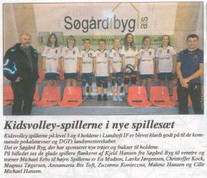 Søgård Byg Sponsor for Lundtoft IF